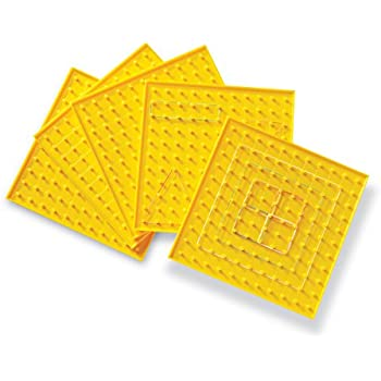 Learning Resources Single-Sided Geoboard, Set of 5