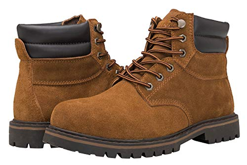 KINGSHOW Men's 1801 Work Boots (7 M US Men's, ()
