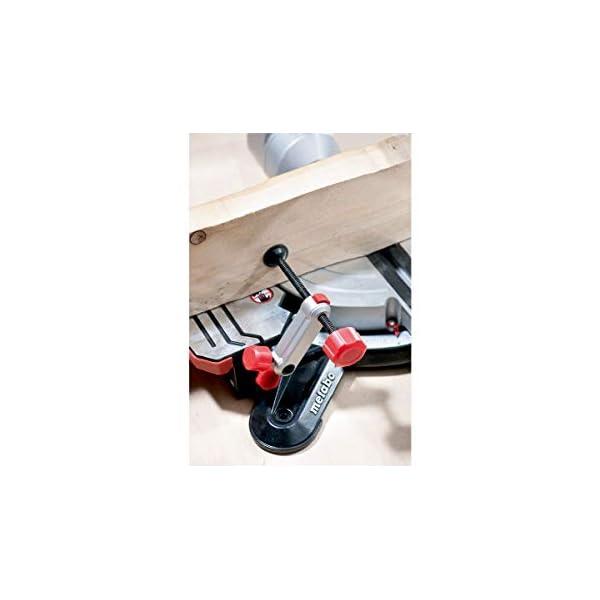 Metabo 619305000 619305000-Ingletadora teléscopica KGS 305 M-2.0 Kw-305 mm, 2000 W, 240 V, Negro, Large