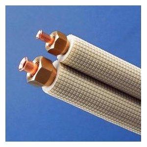 因幡電工 5巻セット フレア加工済み空調配管セット 4m VVFケーブル付き SPH-F234V3_set B008AO9PYU