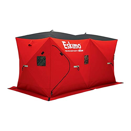 Eskimo Quickfish 6I Insulated Ice Fishing Shelter, 6-Person