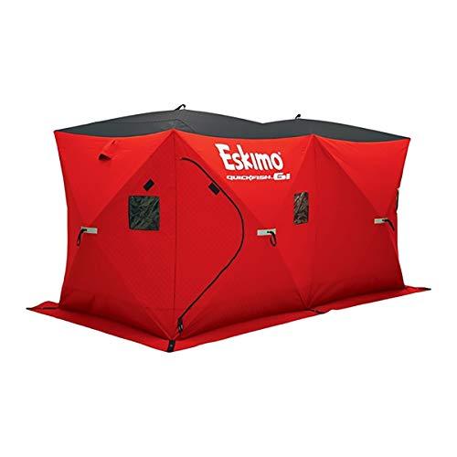 Eskimo Quickfish 6I Insulated Ice Fishing Shelter, 6-Person ()