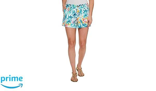 973900e2eef00c Lilly Pulitzer Women's Callahan Shorts Serene Blue Tippy Top Shorts ...