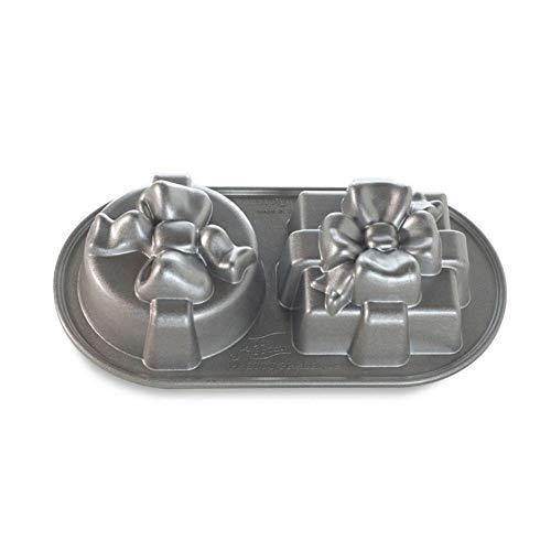 Nordic Ware Platinum Pretty Presents Duet