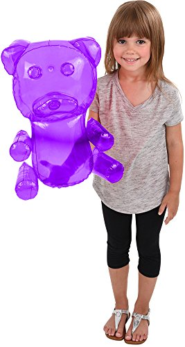 Candy Gummy Bear Costumes - BlockBuster Costumes Delicious Candy Large Purple