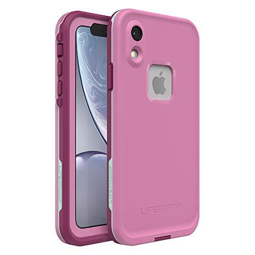 (Lifeproof FRĒ SERIES Waterproof Case for iPhone XR - Retail Packaging - FROST BITE (ORCHID/PURPLE WINE/FAIR AQUA))