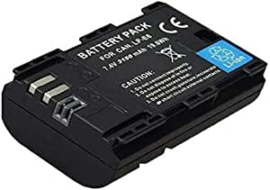 Timetech OEM Camera Battery for LP-E6 Canon EOS 5D Mark III EOS 80D 70D 7D 60D 6D 3150 mAh…