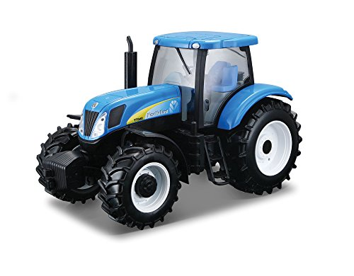 "Bburago B18-44065 ""new Holland T7000 Farm Tractor"" Model Kit, 1:32 Scale -  TOBAR"