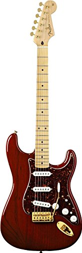 Fender Deluxe Players Strat, Maple Fretboard - Crimson Red Transparent