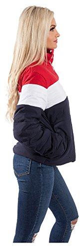 Rosso blu Giacca Donna Loomiloo bianco x4vw7q8q