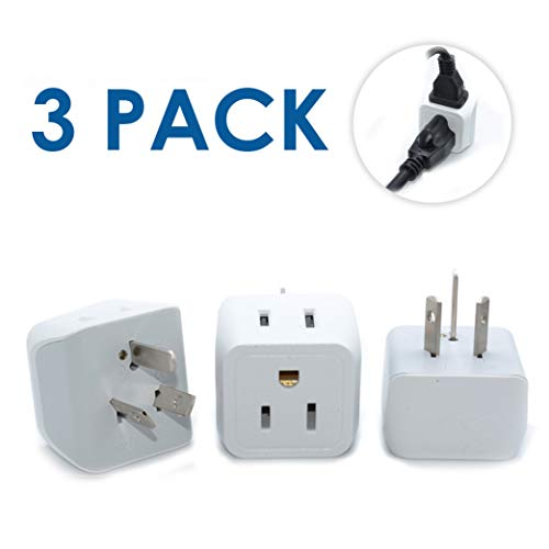 - Ceptics USA to Australia, New Zealand, China Travel Adapter Plug - Type I (3 Pack) - Dual Inputs - Ultra Compact  (Does Not Convert Voltage)