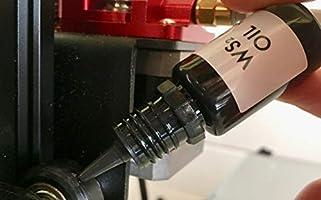 WS2 Aceite de tungsteno disulfuro lubricante ultra grado en aceite ...