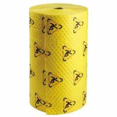 Sorbent Products Company CH303 MAXX Chemical Roll, Polypropylene, 30'' x 300', Black on Yellow by Sorbent Products Company