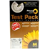 Permajet test Pack Photo Paper: Test Pack 4 Textured FA - 20056