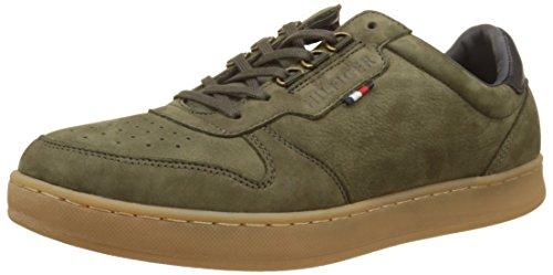 Tommy Hilfiger Herren H2285oxton 1n Sneakers Grün (Olive Night)