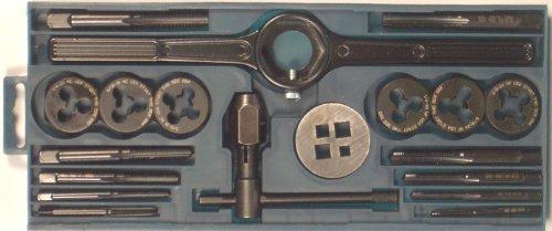 Bosch B44712 19 Piece. Tap and Die Set, Black Oxide - Bosch Black Tap Set