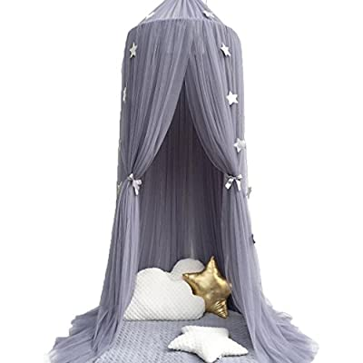 Dome Princess Bed Canopy Kids Mosquito Net Play Tent Hanging House Decoration Lace Netting Curtains Indoor Game House for Baby Kids