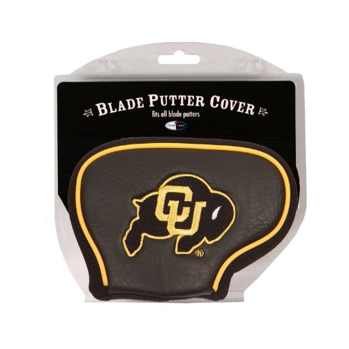Team Golf NCAA Colorado Buffaloes Golf Club Blade Putter Headcover, Fits Most Blade Putters, Scotty Cameron, Taylormade, Odyssey, Titleist, Ping, Callaway