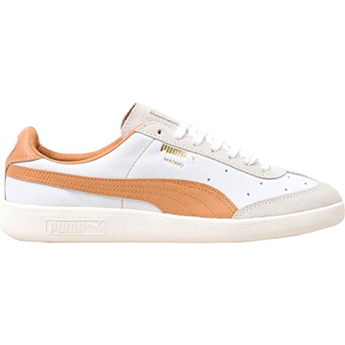 PUMA Madrid Tanned Shoes White C491Tzh