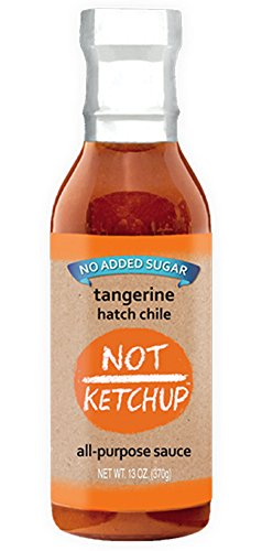 Tangerine Hatch Chile Paleo Whole30 BBQ Sauce (13 oz ()