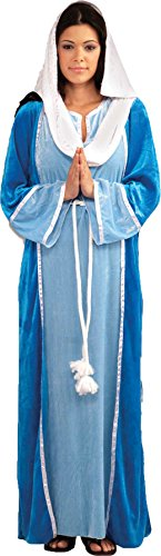 UHC Women's Virgin Mary Outfit Christmas Theme Party Adult Fancy Costume, OS (Mary Adult Womens Plus Size Costumes)