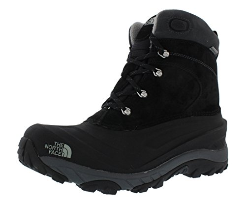 The North Face Men's Chilkat II Insulated Boot,Black/Griffin Grey,10 D - Medium (Man Boots For Sale)