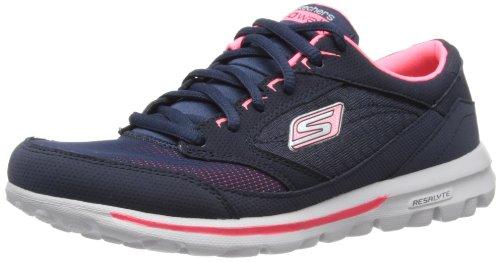 Skechers GO WalkBaby 13569 CCBL - Zapatillas para mujer Azul (NVHP)