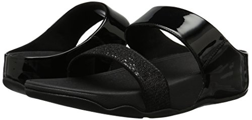 47ffd14f555 FitFlop Women s Lulu Superglitz Slide Sandal