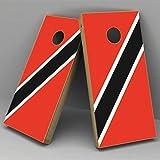 tobago board game - Susie85Electra Trinidad Tobago Flag Wedding Cornhole Board Decals Vinyl Wedding Game Boards Stickers Unique Set of 2