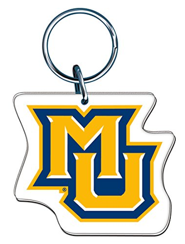 Marquette Chain (Marquette University Key Ring made of Premium Acrylic MU Logo)