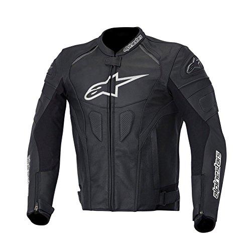 Alpinestars GP Plus R Leather Men's Riding Jacket (Black/White, Size 54)