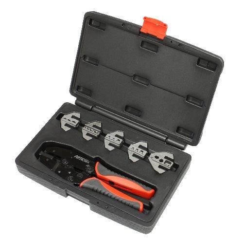 (Pertronix (T3001) Quick Change 6-Piece Ratchet Crimp Tool Kit)