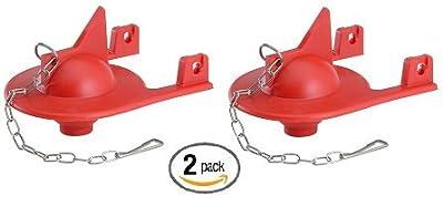 Korky 2012BP Shark Fin Flapper For Kohler Toilet Repair- 2 Pack