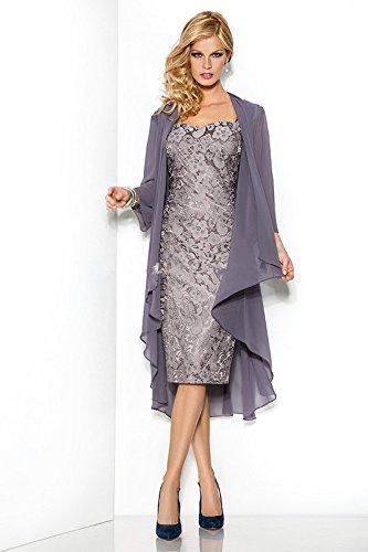 CoCogirls - Robe - Trapèze - Femme -  gris - 34