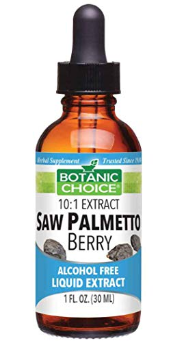 Botanic Choice Saw Palmetto Berry Alcohol Free Liquid Extract, 1 Fluid Ounce