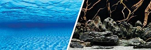 Marina 11752 Double Sided Aquarium Backround, Aqua Garden/Bright Stone, 45.7cm X 7.6m (18-Inch X25-Feet) Rolf C. Hagen Inc.