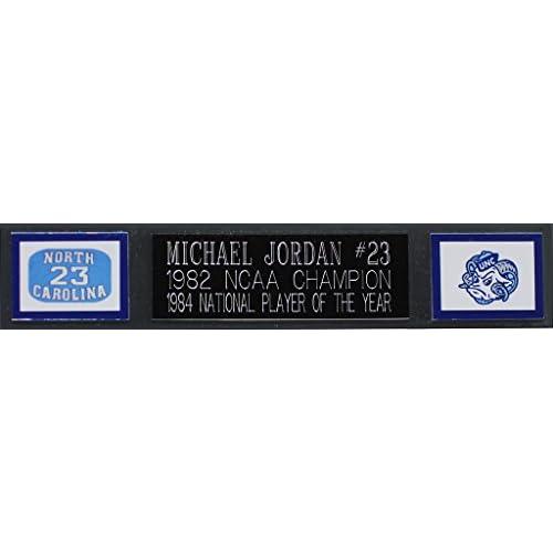 Michael Jordan Autographed White UNC Tar Heels Jersey - Beautifully ...