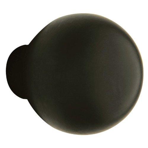 5041 Knob - Baldwin 5041190IMR Single 5041 Knob Less Rose Satin Black Finish