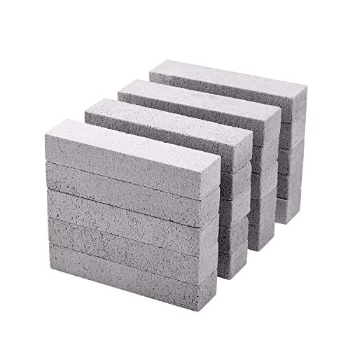 20 PCS Pumice Stone Toilet Bowl Cleaner, Long-Lasting Pumice Stone for Toilet Bowl and Tile Cleaning, Saves You 50% More Money, 1 Minute Remove Stubborn Stains on Swimming Pool Tiles, Toilet Bowls