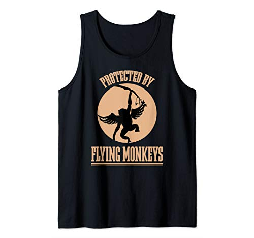 Wizard of OZ Wicked Witch Get My Flying Monkeys Tank Top -