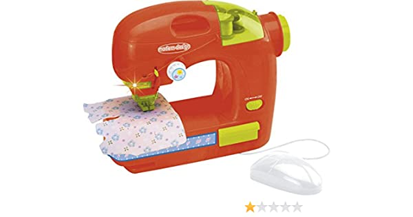 IMITOYS Máquina de Coser Roja con Ratón y Luz: Amazon.es: Juguetes ...