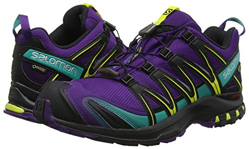 Green dynasty Women''s 3d Shoes Salomon black Xa Trail Gtx Running Purple Pro dw4qPCqxtT