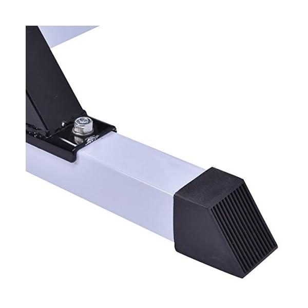 96f642fd83d COSTWAY Chin Up Power Tower Rack Pull Up Weight Stand Bar Leg Raise ...