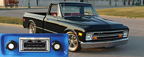 Custom Autosound Stereo compatible with 1967-1972 GMC Pickup, USA-630 II High Power 300 watt AM FM Car Stereo/Radio