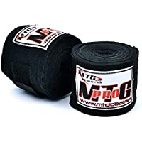 MTG Pro 5m Elasticated Handwraps Black
