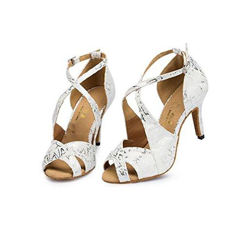 De GUOSHIJITUAN Fondo De Baile Zapatos Baile Tacones Blando Zapatos A S Mujer Gamuza De Latino Baile Zapatos De Salón SSqFrwa