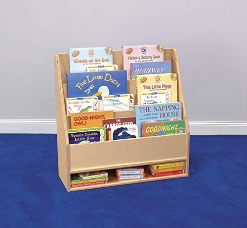 Childcraft Toddler Book Display with Dry-Erase Panel, 3 Shelves, 24 x 9 x 24 Inches by Childcraft