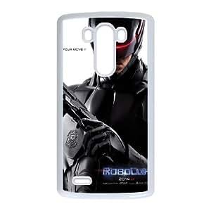 LG G3 Cell Phone Case White_RoboCop Mzsoi