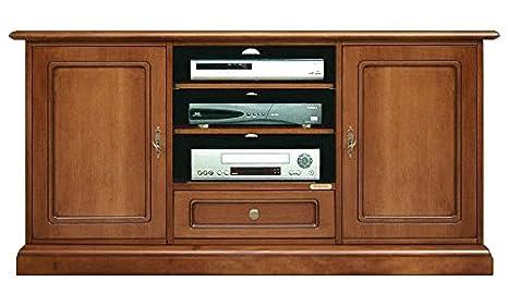 Credenza Per Tv : Mobile porta tv classico alto credenza per cassetto