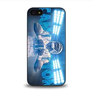 iPhone 5 5S case protective skin cover with NFL Carolina Panthers quarterback Cam Newton #1